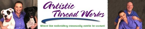 Logo from www.ArtisticThreadworks.com