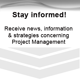 Project Masters Newsletter signup form